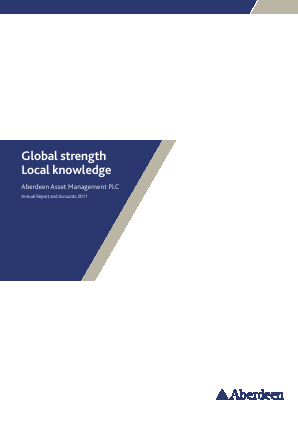 Aberdeen Asset Management 2011 annual report