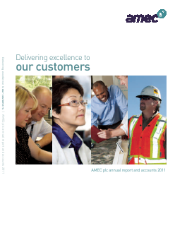 Amec 2011 annual report