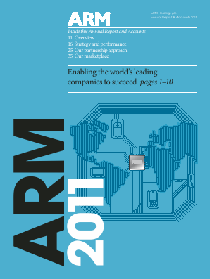 ARM Holdings 2011 annual report