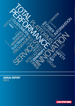 BAE Systems 2011 annual report