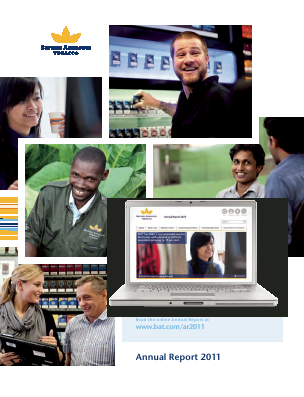 British American Tobacco 2011 annual report