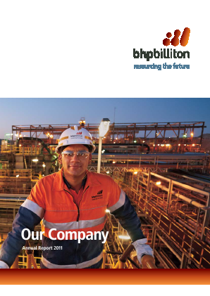 BHP Billiton 2011 annual report