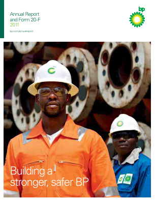 BP 2011 annual report