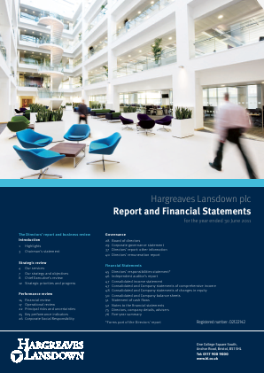 Hargreaves Lansdown 2011 annual report