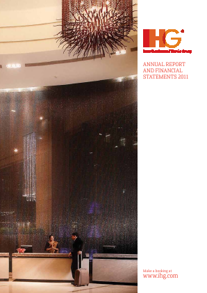 Intercontinental Hotels 2011 annual report
