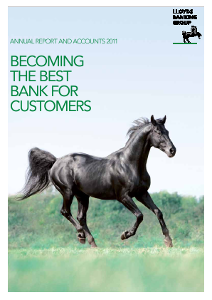 Lloyds Banking Group 2011 annual report