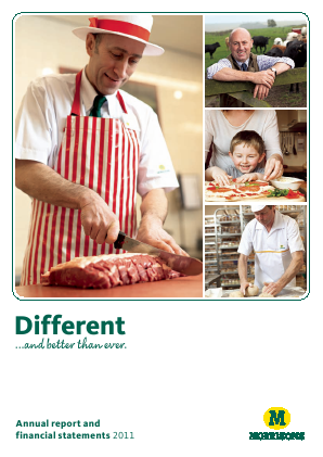 Morrisons 2011 annual report