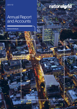 National Grid 2011 annual report