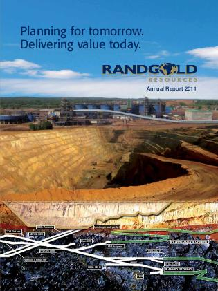 Randgold Resources 2011 annual report