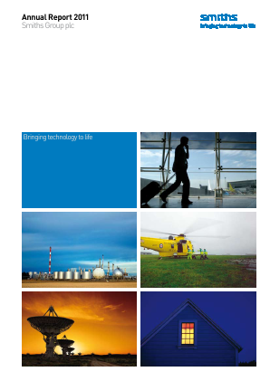 Smiths Group 2011 annual report