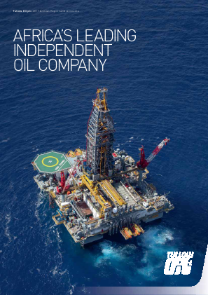 Tullow Oil 2011 annual report