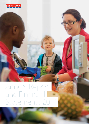 Tesco 2011 annual report